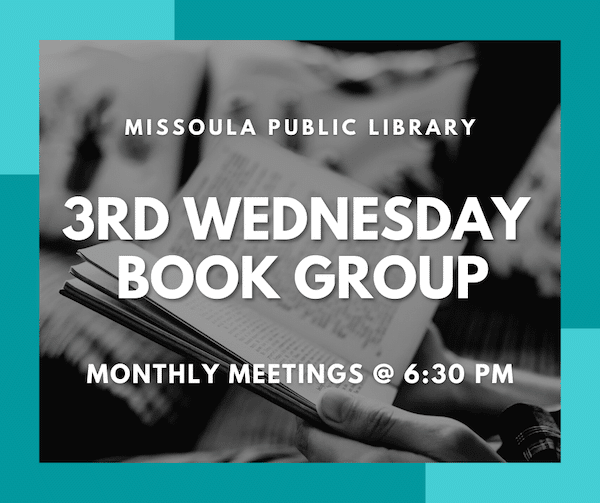3rd Wednesday Book Group