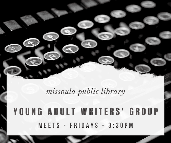 Young Adult Writers Group