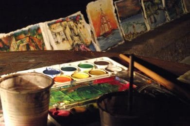 Watercolor Painting Event