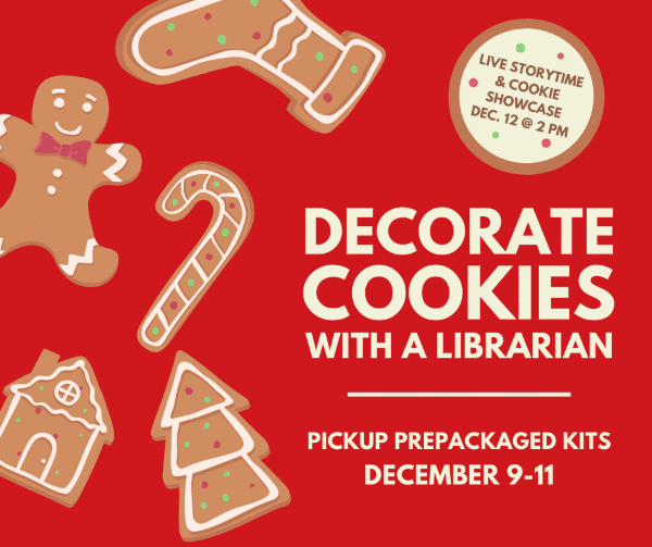 Decorate Cookies with a Librarian
