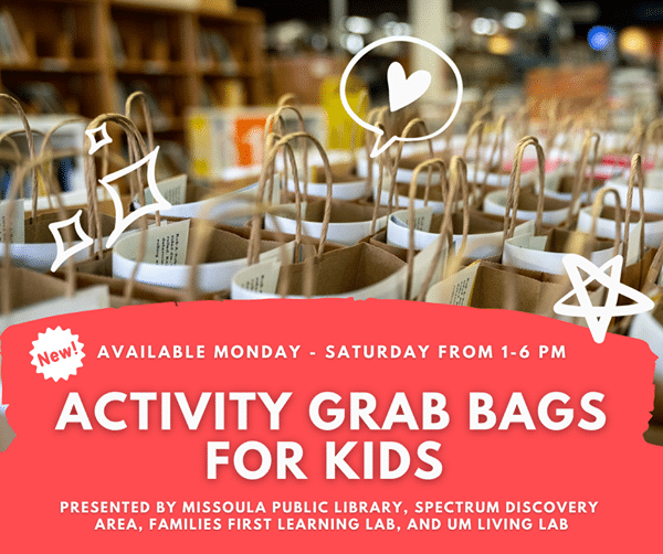 Activity Grab Bags for Kids: Presented by MPL and partners