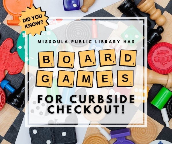 Board Games for Curbside Checkout