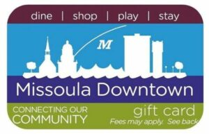 Missoula Downtown Gift Card