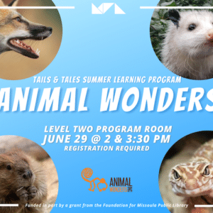 Tails & Tales with Animal Wonders!